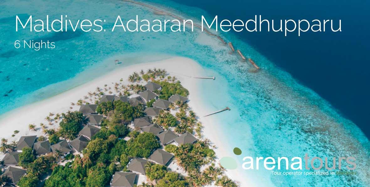 Oferta de viaje a Maldivas en Adaaran Select Meedhupparu, 6 noches