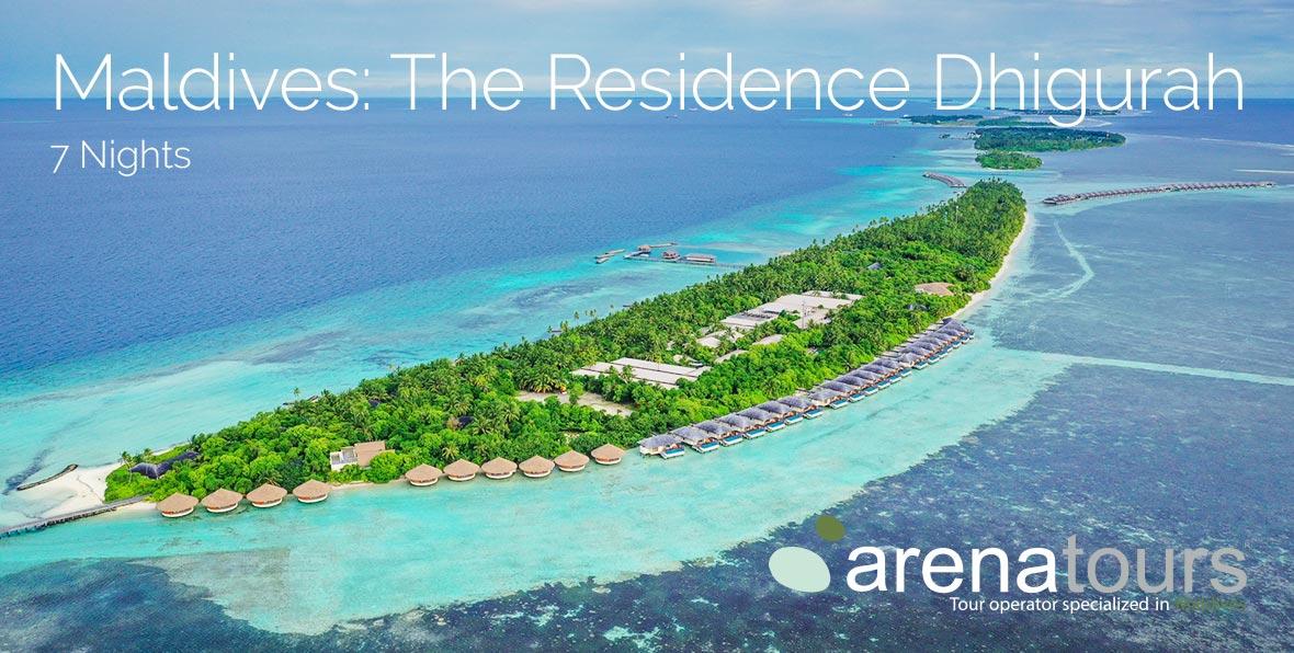 Oferta de viaje a Maldivas en The Residence Dhigurah, 7 noches
