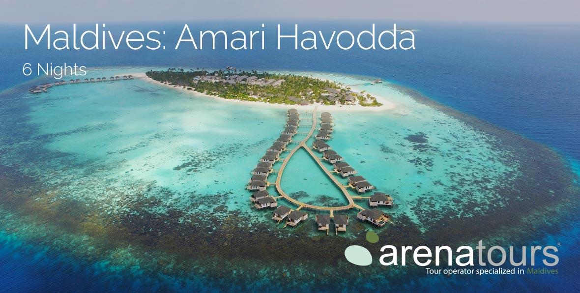 Viaje a Maldivas en Amari Havodda, 6 noches