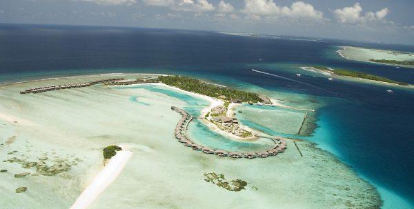 Vista aerea Cinnamon Dhonveli Maldives