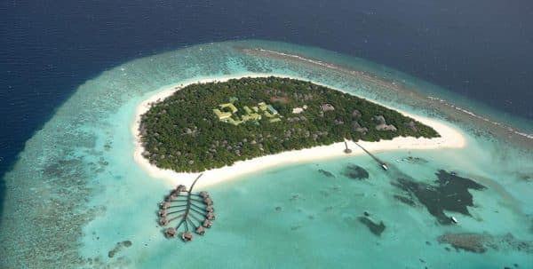 Vista aerea Coco Palm Dhuni Kolhu