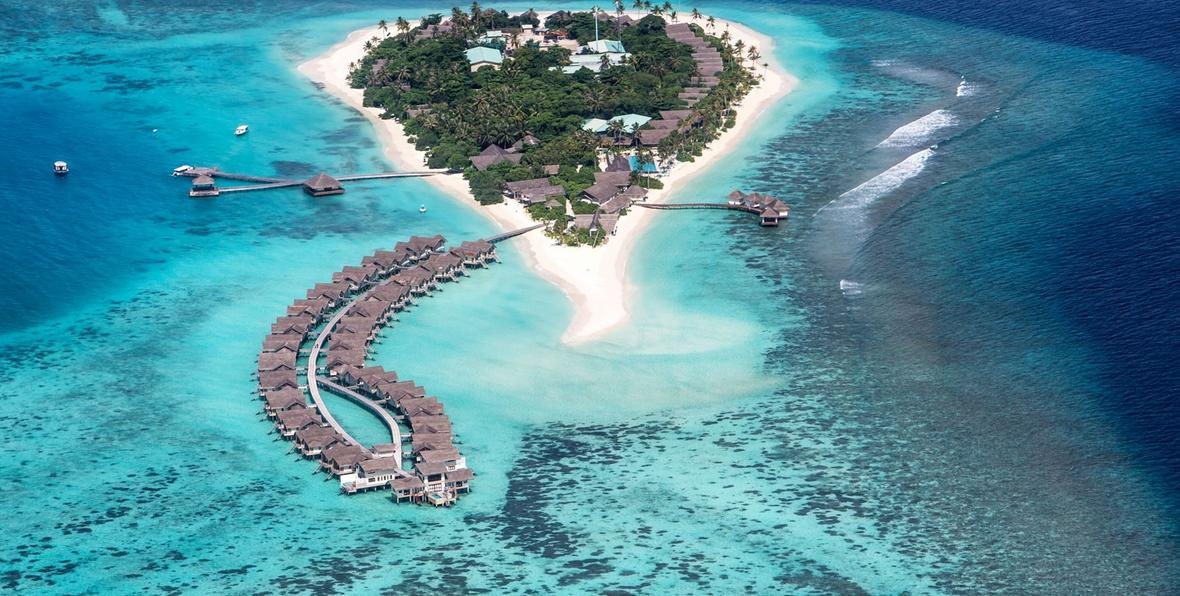 vista aerea Loama Resort Maldives