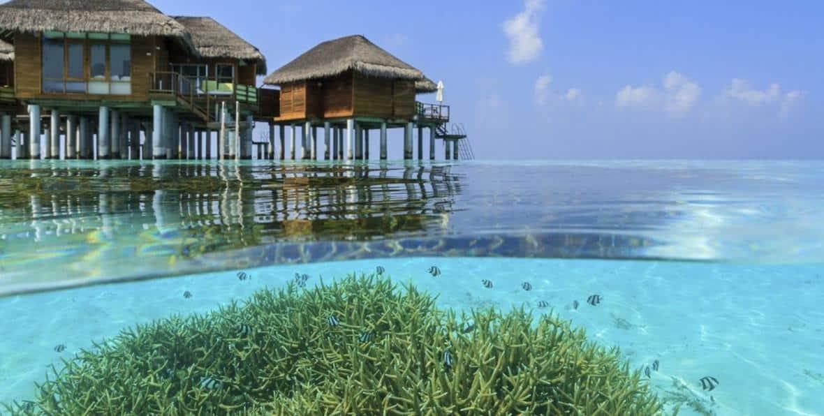 Water Villa en tu viaje a Maldivas todo incluido